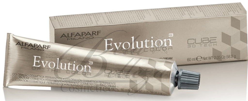 Tinta Evolution Alfaparf 60ml .01 Cinza Claro