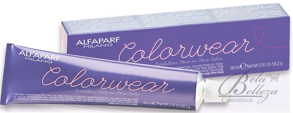 Tonalizante ColorWear Alfaparf 60ml 5.5 Castanho Claro Acaju