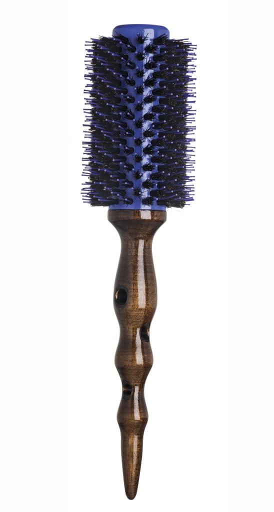 Escova de Cabelo Vertix Woodporcupine Cerdas Naturais Base Aluminio 33mm