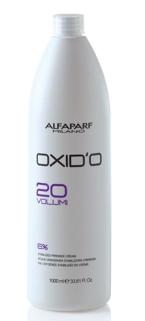 Agua Oxigenada Alfaparf Oxid'o 1L 20 Volumes