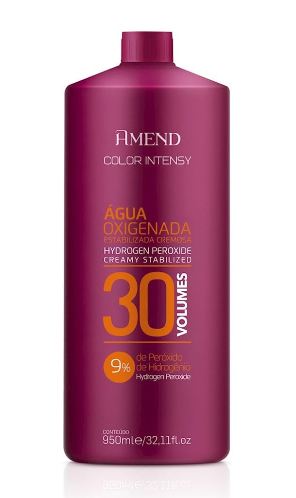 Agua Oxigenada Amend Color Intensy 950ml 30 Volumes
