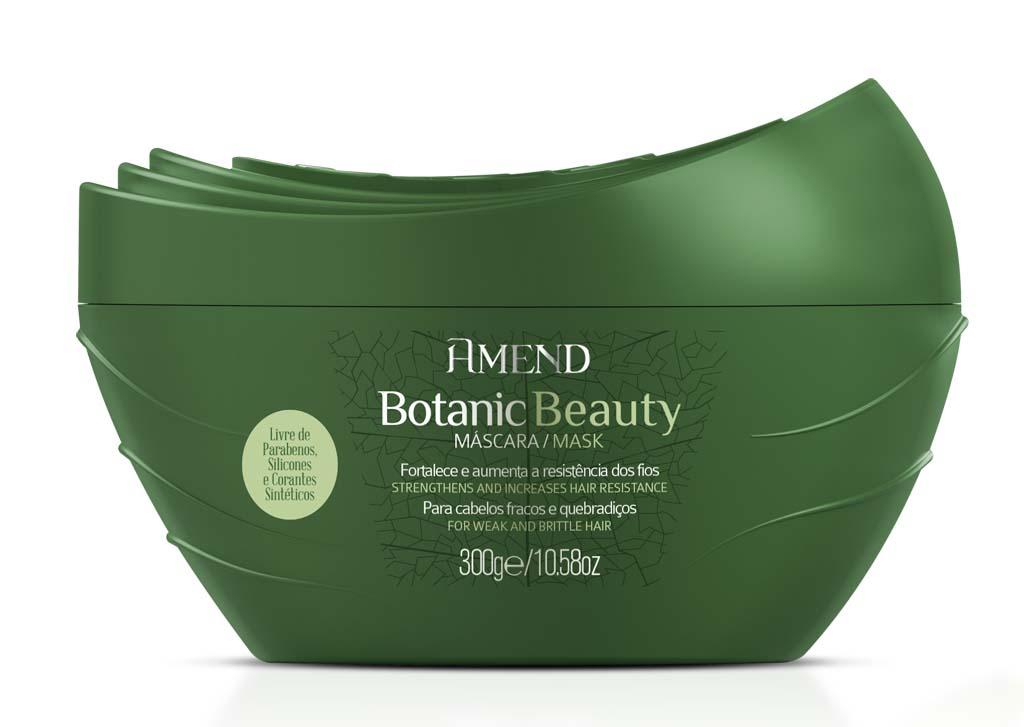 Mascara Amend Botanic Beauty Cabelos Fracos e Quebradicos 300g