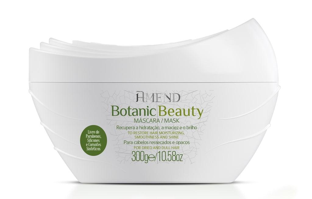Mascara Amend Botanic Beauty Hidratacao e Brilho 300g