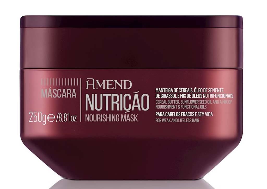Mascara Amend Essenciais Nutricao 250g Nourishing Mask
