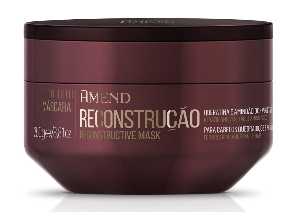 Mascara Amend Essenciais Reconstrucao 250g Reconstructive Mask