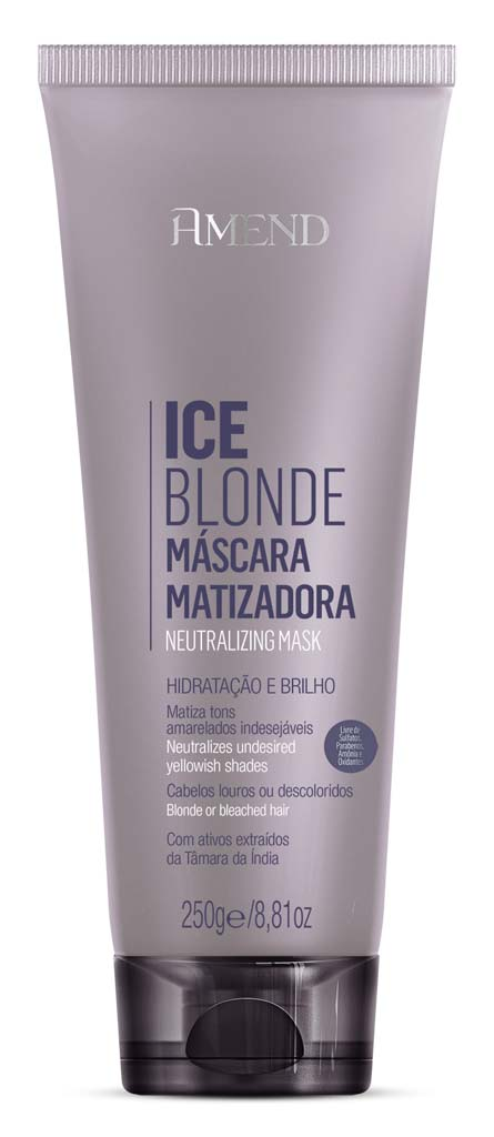 Mascara Matizadora Amend Ice Blonde 250g