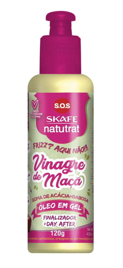 Oleo em Gel Natutrat Skafe SOS Vinagre de Maca 120g Finalizador Day After