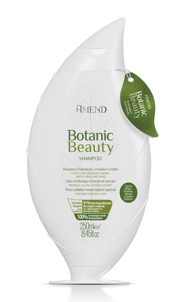 Shampoo Amend Botanic Beauty Hidratante 250ml