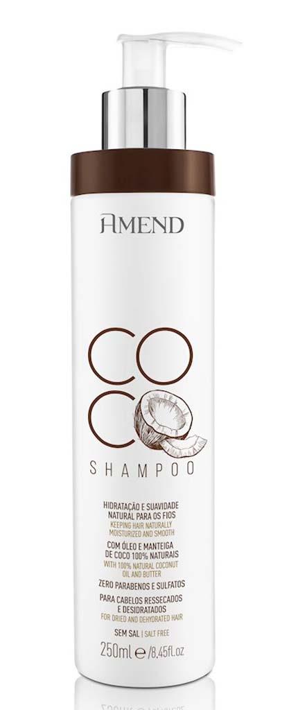 Shampoo Amend Coco Cabelos Ressecados e Desidratados 250ml