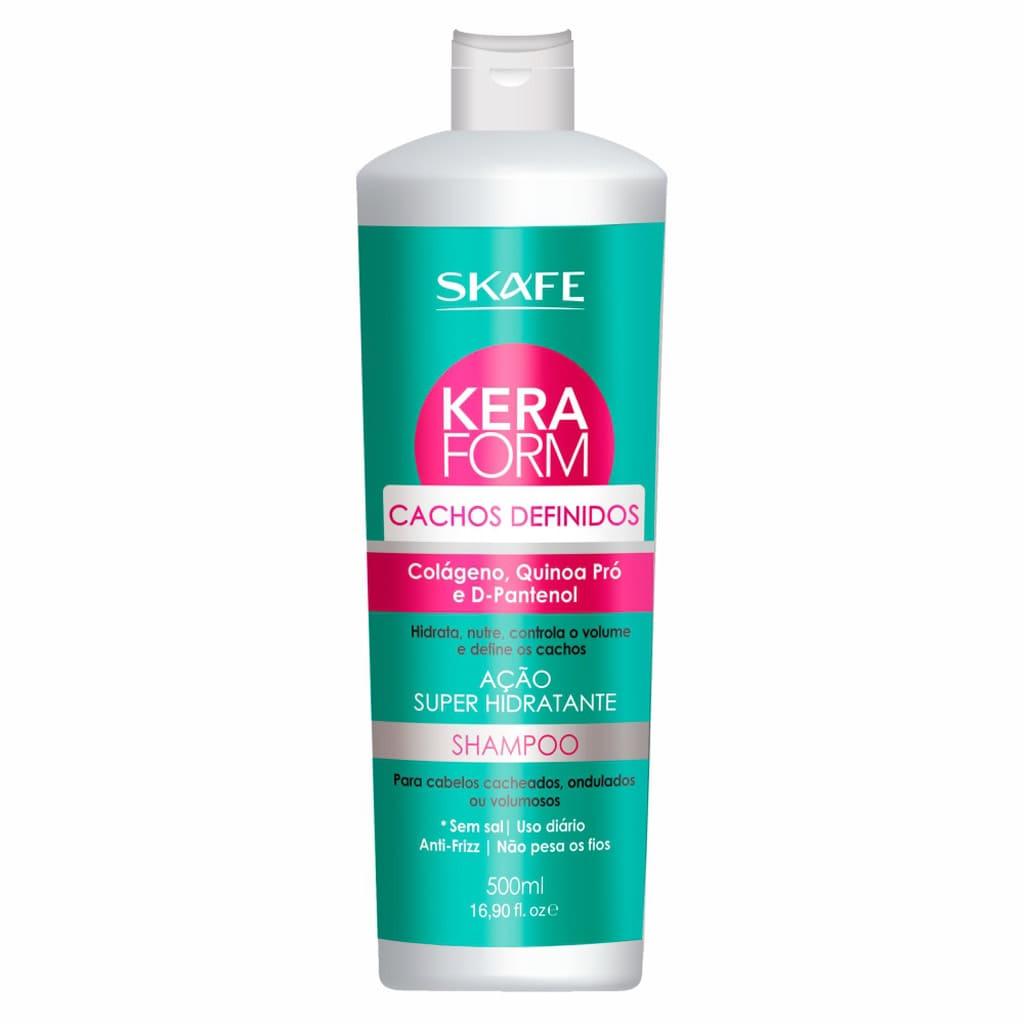 Shampoo Keraform Skafe Cachos Definidos 500ml Super Hidratante