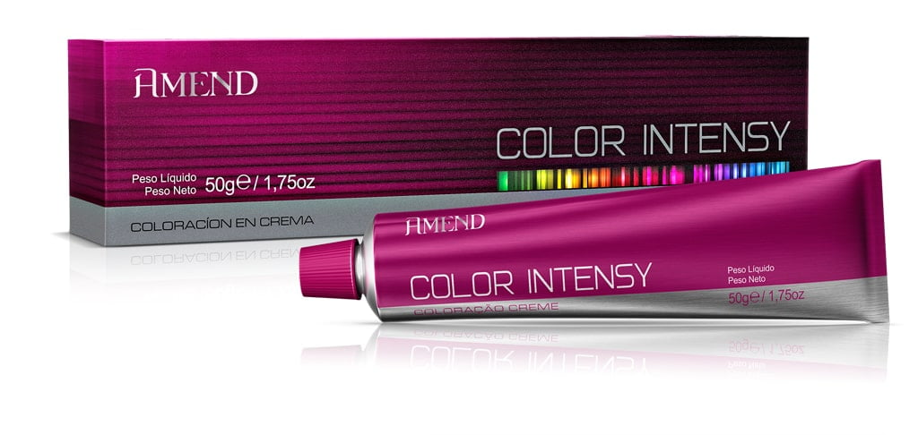 Tinta Amend Color Intensy 50g 7.0 Louro Medio