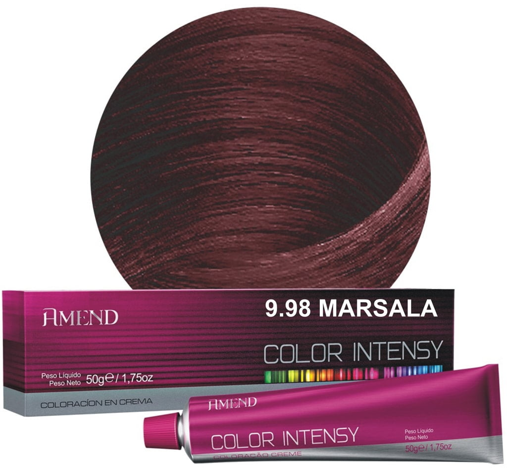 Tinta Amend Color Intensy 50g 9.98 Marsala
