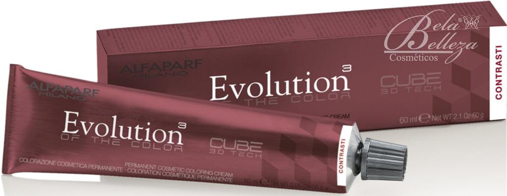 Tinta Evolution Alfaparf 60ml Vermelho Contrast