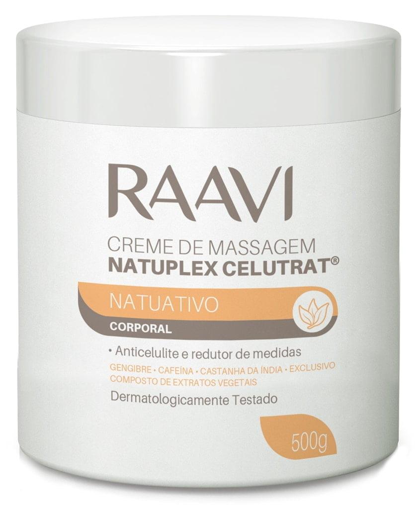 Creme de Massagem Natuativo Raavi 500g Natuplex Celutrat