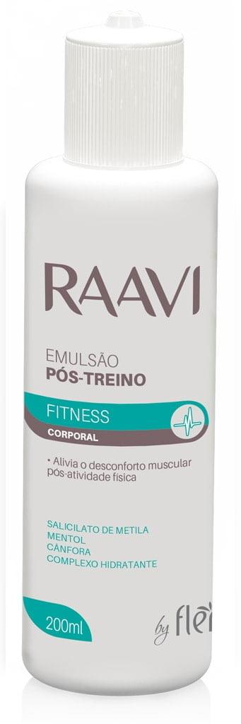 Emulsão Pós Treino Raavi 200ml Fitness