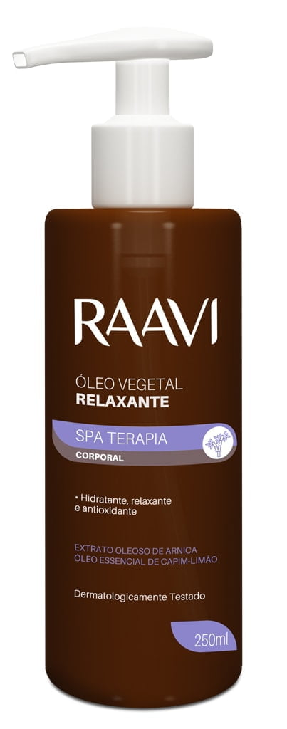 Oleo Vegetal SPA Terapia Raavi Relaxante 250ml