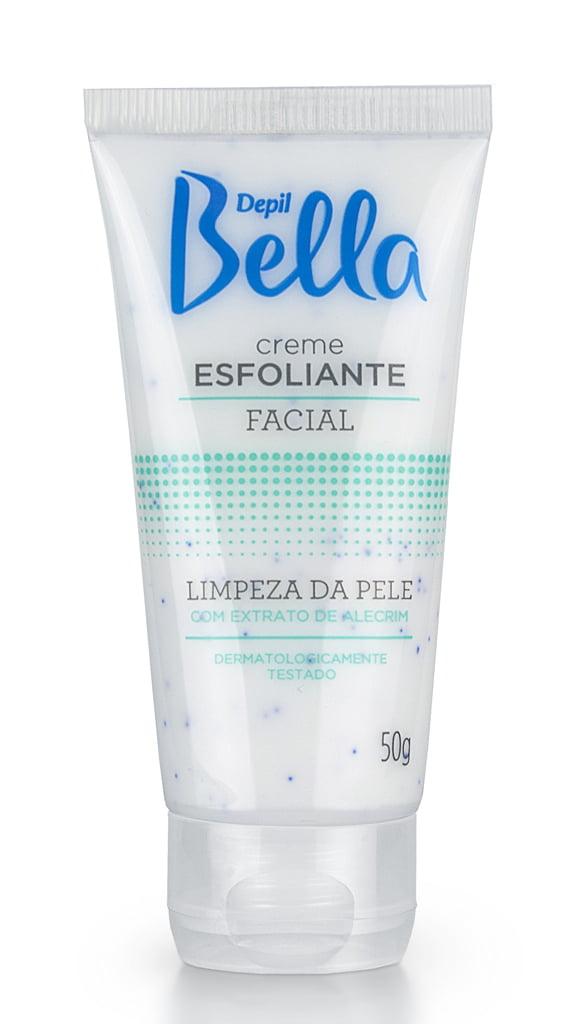 Esfoliante Facial Depil Bella Limpeza da Pele Extrato de Alecrim 50g