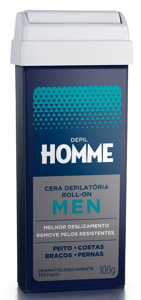 Cera Depil Bella Roll-on 100g Homme Men