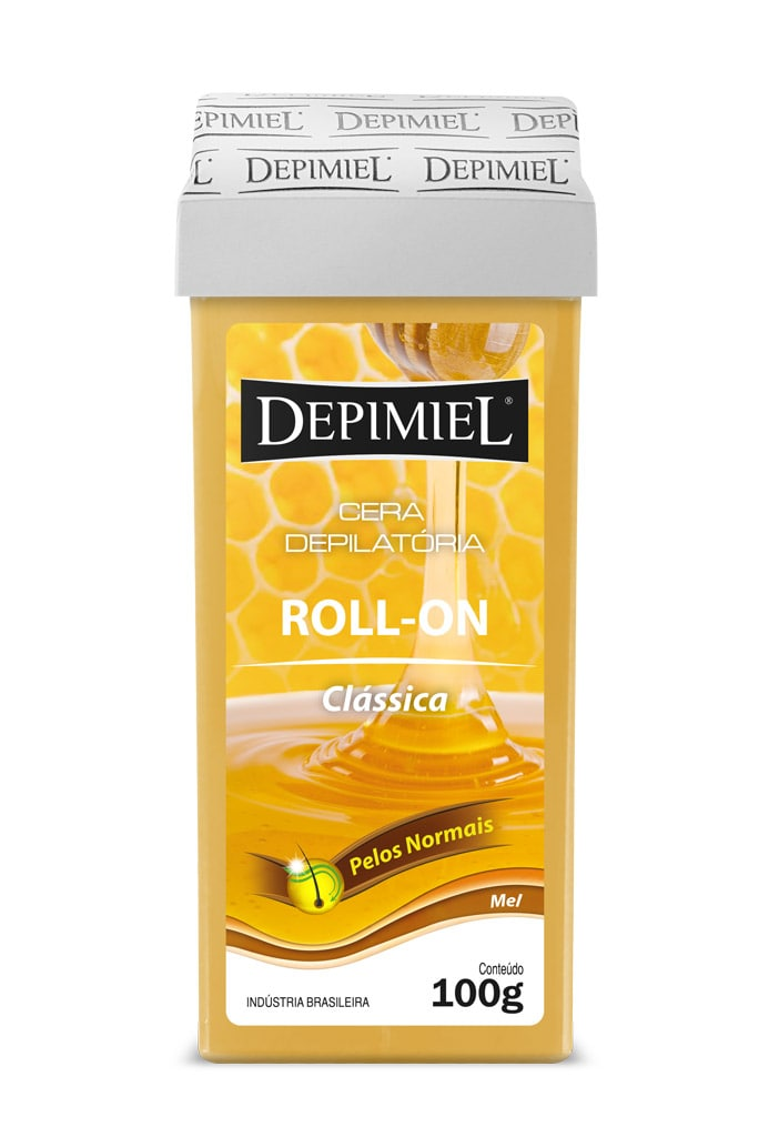 Cera Depimiel Roll-on Classica com Mel 100g