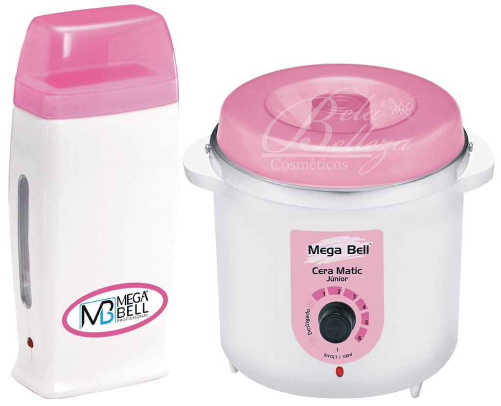 Kit Mega Bell Panela Termocera 400g e Depilador Roll-on