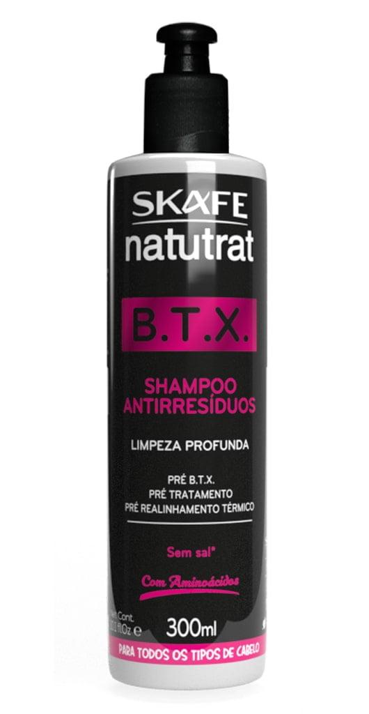 Shampoo Antiressíduos Btx Natutrat Skafe 300ml Limpeza Profunda