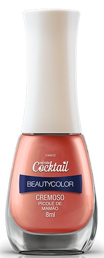 Esmalte Beauty Color Cocktail Picolé de Mamão