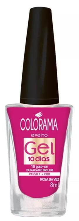 Esmalte Colorama Gel 10 dias Rosa da Vez