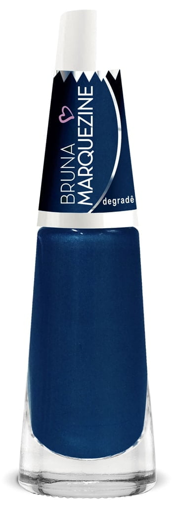 Esmalte Bruna Marquezine Degradê Blue
