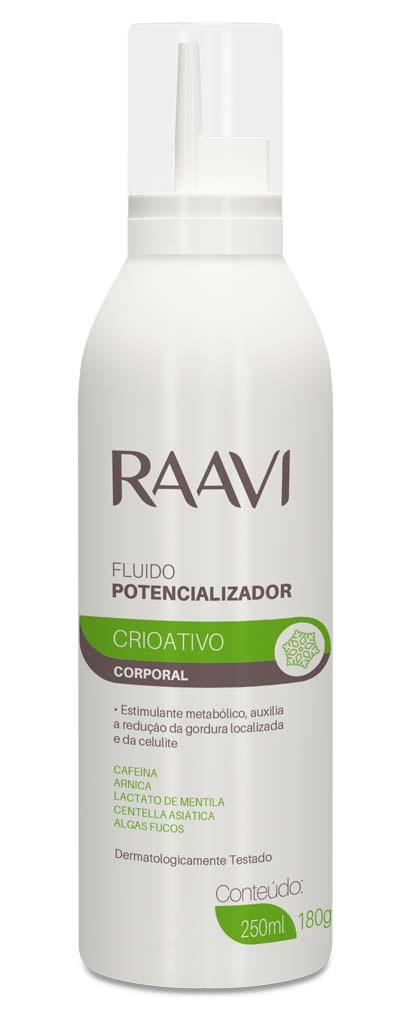 Fluido Potencializador Crioativo Raavi 300ml Estimulante Metabolico