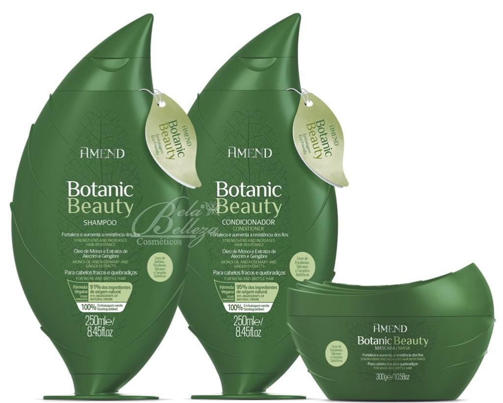 Amend Botanic Beauty Kit Fortalecedor (Shampoo + Condicionador + Mascara)