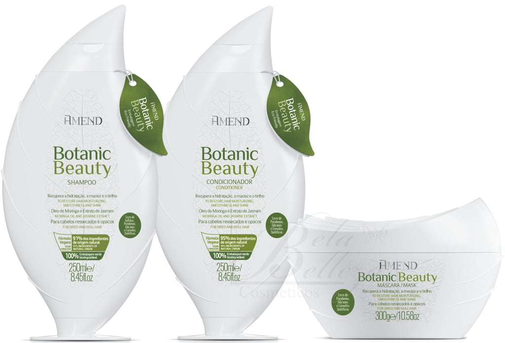 Amend Botanic Beauty Kit Hidratacao e Brilho