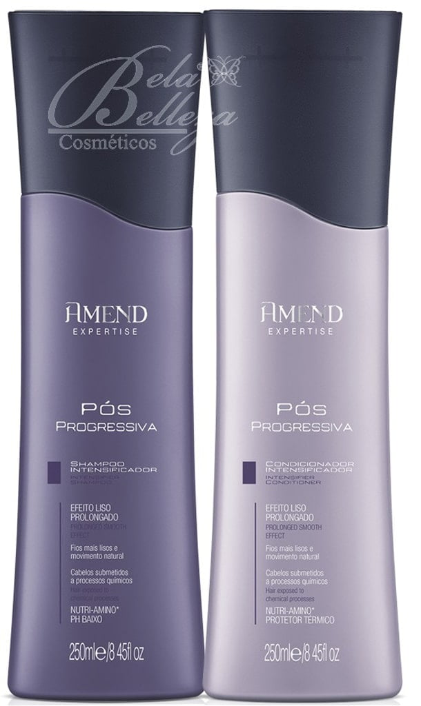Amend Pos Progressiva Kit Liso Prolongado Shampoo + Condicionador