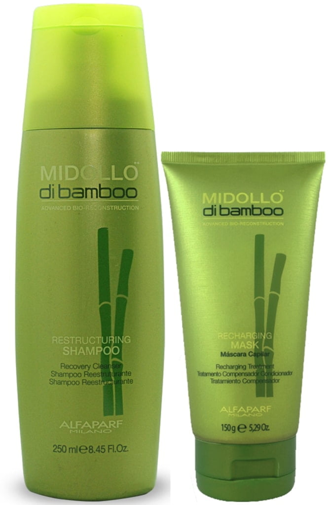 Kit Duo Midollo di Bamboo Alfaparf Reparador (250ml + 150g)