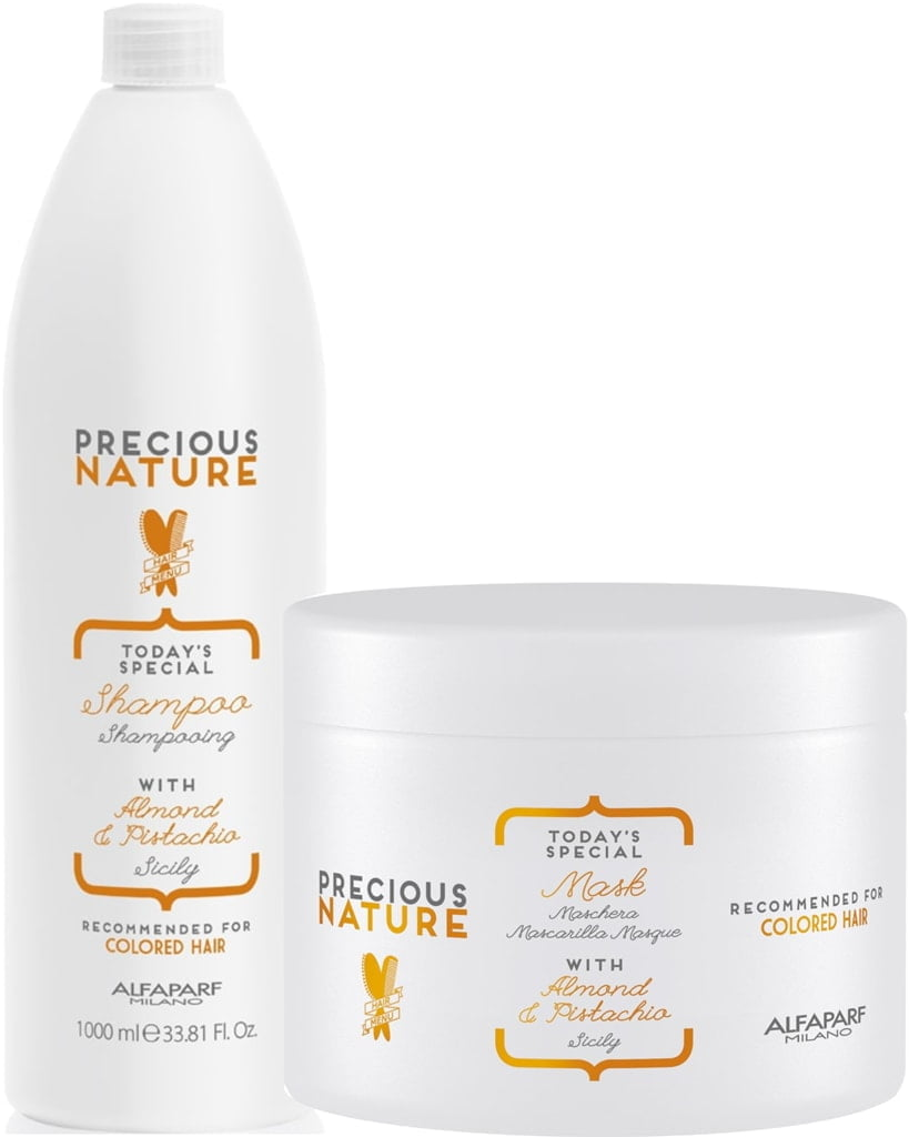 KIT DUO PRECIOUS NATURE ALFAPARF COLORED HAIR
