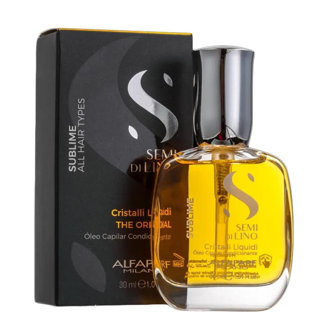 Oleo Semi di Lino Sublime Alfaparf Cristalli Liquidi 30ml