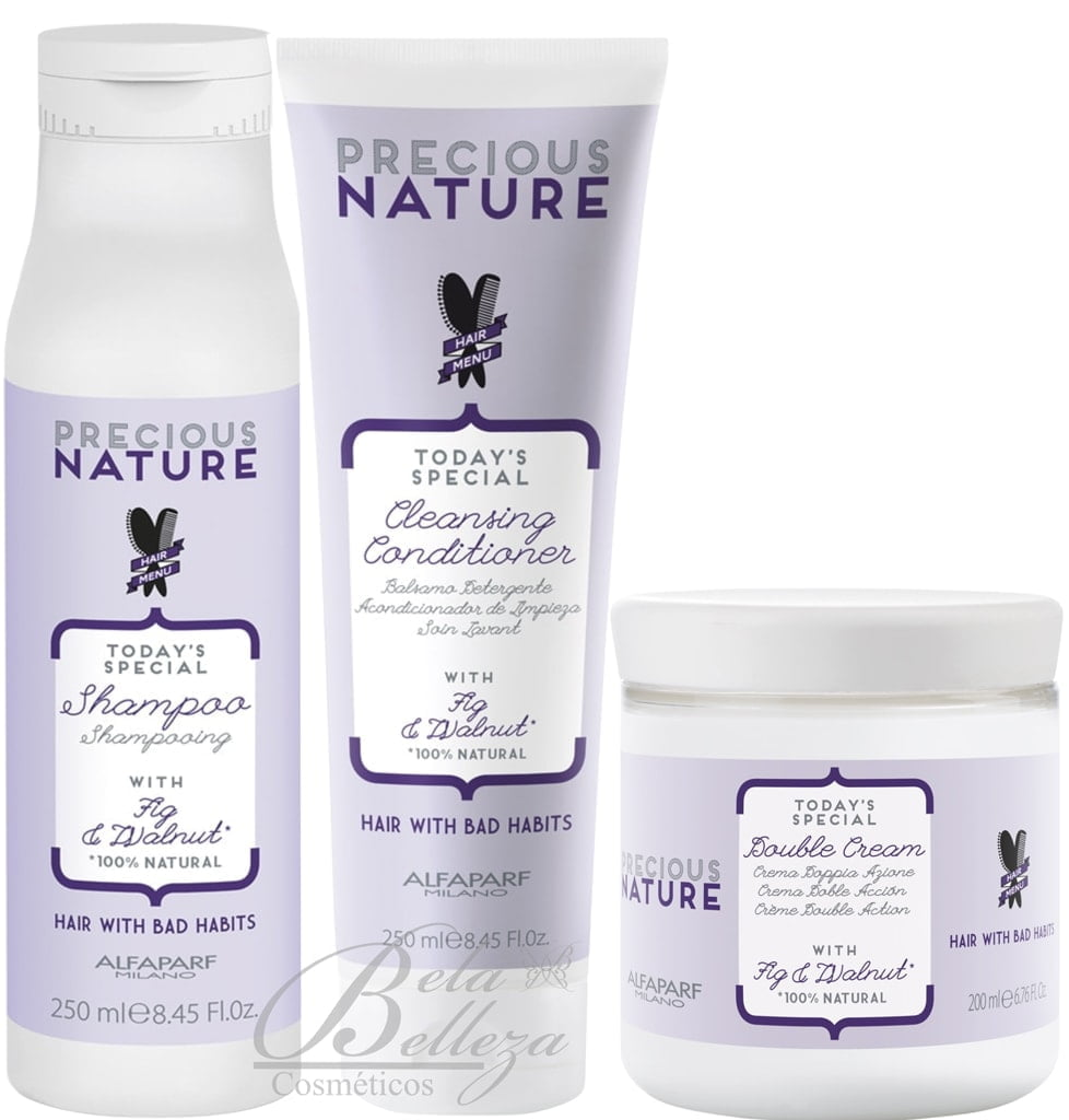 Reparacao Profunda Precious Nature Alfaparf Hair With Bad Habits