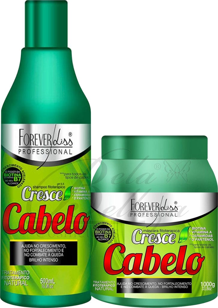Cresce Cabelo Forever Liss Duo (500ml + 1kg)