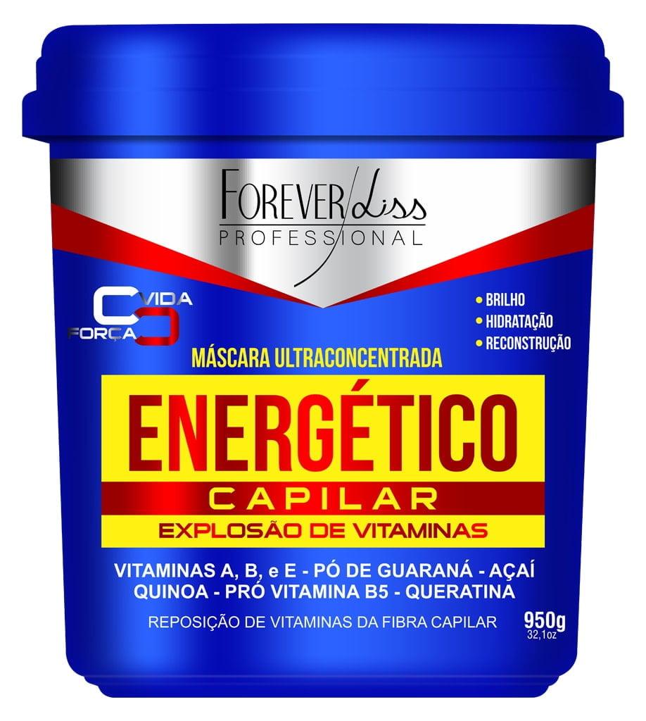 Máscara Energetico Capilar Forever Liss 950g Explosao de Vitaminas