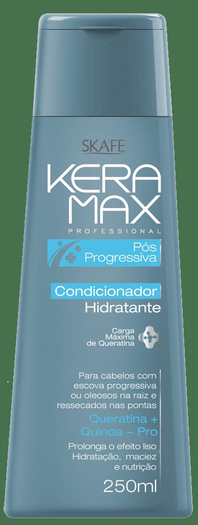 Condicionador Keramax Skafe 250ml Pós Progressiva