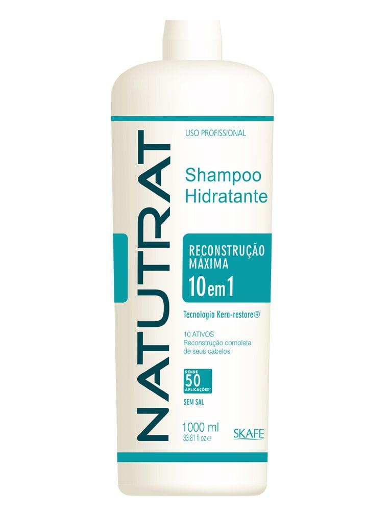 Shampoo Natutrat Skafe Reconstrucao Maxima 10 em 1 1L