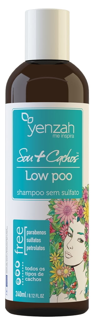 Shampoo Sou + Cachos Yenzah 240ml Low Poo