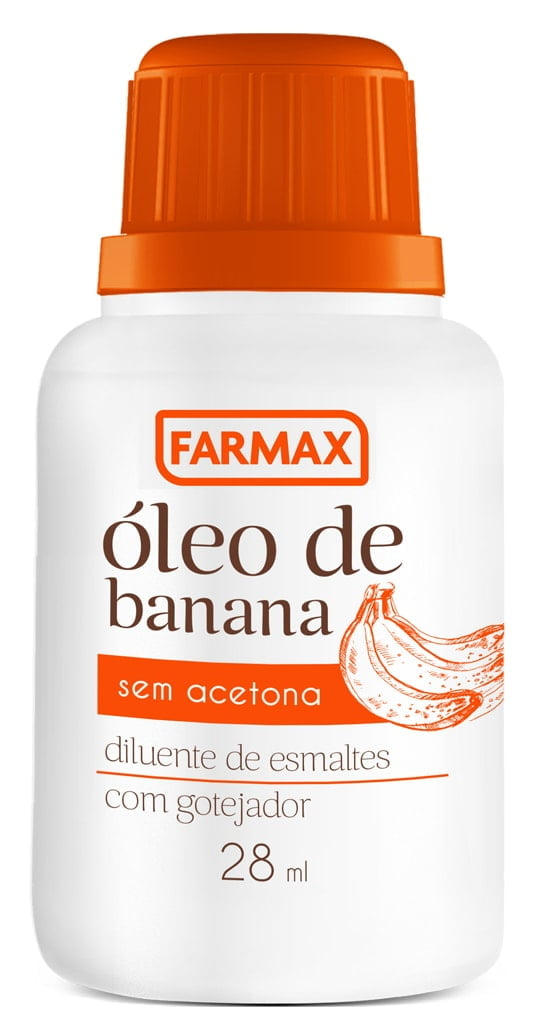 Óleo de Banana Farmax 28ml