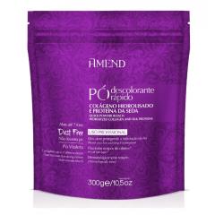 Descolorante Amend Colageno e Proteina da Seda 300g Po Violeta 7 Tons
