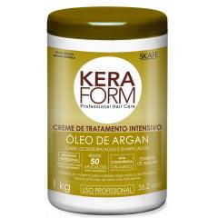 Mascara de Tratamento Intensivo Keraform Skafe 1kg Oleo de Argan