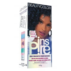 Creme Tonalizante Color Inspire BeautyColor Blue Moon 100g Azul