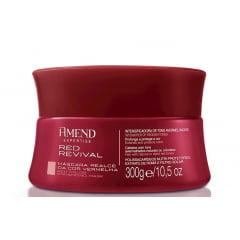 Mascara Matizadora Amend Red Revival 300g Cabelo Vermelho