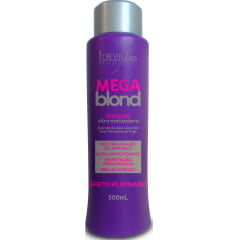 Máscara Matizadora Mega Blond Forever Liss 500ml Ultra Anti Yellow