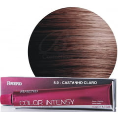 Tinta Amend Color Intensy 50g 5.0 Castanho Claro
