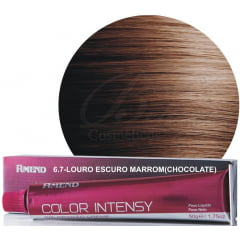 Tinta Amend Color Intensy 50g 6.7 Chocolate - Louro Escuro Marrom