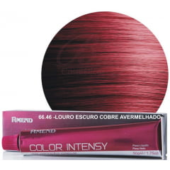 Tinta Amend Color Intensy 50g 66.46 Louro Escuro Cobre Avermelhado Intenso (Cereja)